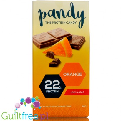Pandy Protein Orange, czekolada proteinowa