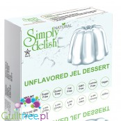 Simply Delish Sugar Free Unflavored Jelly Vegan Dessert