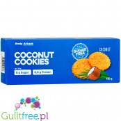 Body Attack Coconut protein cookies, sugar free, 115g