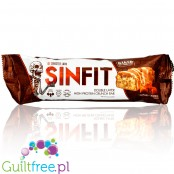 Sinister Labs Sinfit Caramel Crunch protein bar