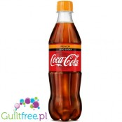 Coca-Cola Zero Peach 500ml