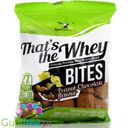Sports That's the definition Whey Bites Peanut Toffee