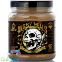 Sinister Labs Angry Mills Chocolate Chaose caffeinated protein infused peanut powder