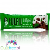 Fulfil Milk Chocolate & Mint protein bar with vitamins