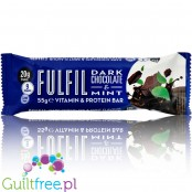 Fulfil Dark Chocolate & Mint protein bar with vitamins