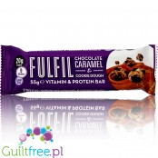 Fulfil Chocolate & Caramel protein bar with vitamins