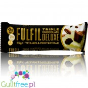 Fulfil Triple Chocolate Deluxe baton proteinowy z witaminami