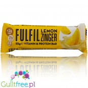 Fulfil Lemon Zinger protein bar with vitamins