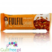 Fulfil Peanut & Caramel protein bar with vitamins