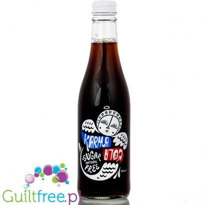 Karma Cola with stevia and erythritol
