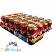 Coca-Cola Peach Zero - zgrzewka 24 x 330ml