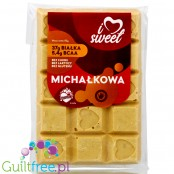 iLoveSweet sugar free protein white chocolate with peanut butter