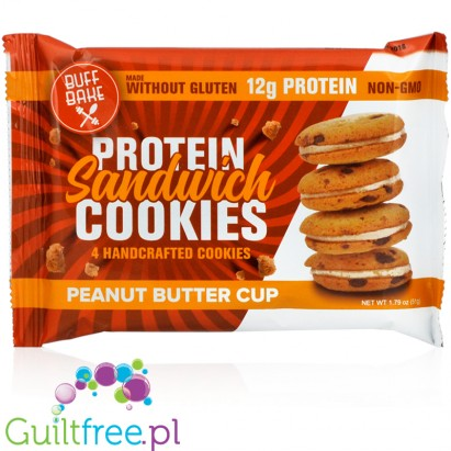 Buff Bake protein sandwich cookies Peanut Butter Cup