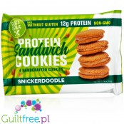 Buff Bake protein sandwich cookies Snickerdoodle