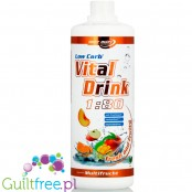 Vital Drink Multifruit 1L low carb concentrate