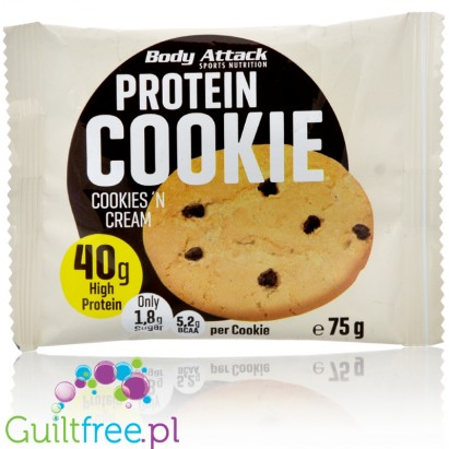 Body Attack Protein Cookie Cookies 'n Cream 40g protein