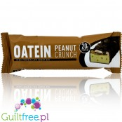 Oatein protein bar Peanut Crunch low sugar protein bar