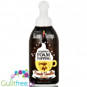 Skinny Syrups Sugar Free Whipped Latte Foam Topping - French Vanilla