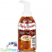 Skinny Syrups Sugar Free Whipped Latte Foam Topping - Maple Bourbon