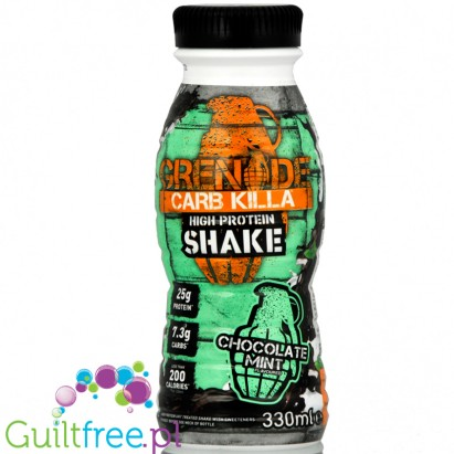 Grenade Carbkilla Chocolate Mint RTD 330ml