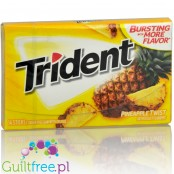 Trident Pineapple Twist sugar free chewing gum