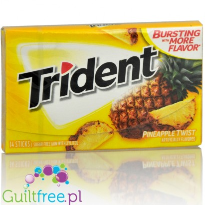 Trident Pineapple Twist guma do żucia bez cukru