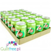 7up Free can - zero sugar, zero kcal, case 24 x 330ml