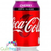Coca Cola Cherry Zero - wersja UK