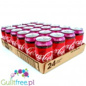 Coca Cola Cherry Zero cases 24 x 330ml