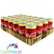 -Diet Coke Vanilla Zero cases 24 x 330ml