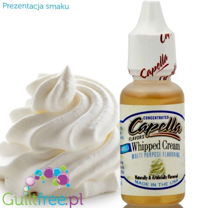Capella Whipped Cream concentrated flavor