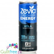 Zevia Energy Cola natural energy drink with stevia