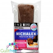 Light Sugar Michalek Dark protein bar sugar free with WPC, free from lactose