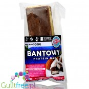 Light Sugar Bantowy protein bar sugar free with WPC, free from lactose