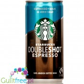 STARBUCKS DOUBLESHOT NO ADDED SUGAR