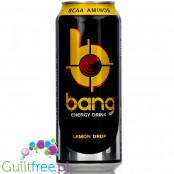 VPX Bang Lemon Drop sugar free energy drink with BCAA