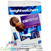Weight Watchers Chocolate Candies, Caramel Medallions - no sugar added chocolate candies with stevia