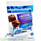 Weight Watchers by Withman's Caramel with Crispies, sugar free chocolate candies with stevia