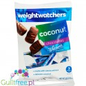 Weight Watchers by Withman's Coconut, sugar free chocolate candies with stevia