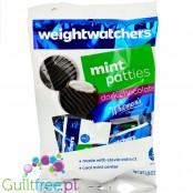 Weight Watchers sugar free Chocolate Candies, Dark Chocolate Mint Patties with stevia