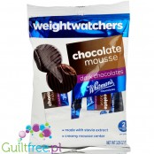 Weight Watchers Chocolate Candies with stevia, sugar free, Dark Chocolate Mousse