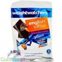 Weight Watchers Chocolate Candies, English Toffee - nadziewane czekoladki bez cukru ze stewią