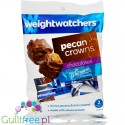 Weight Watchers Chocolate Candies, Pecan Crowns, no sugar added, with stevia