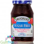 Smucker's Sugar Free Red Raspberry Preserves Sweetened with Splenda