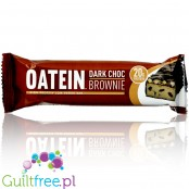 Oatein Bar Dark Chocolate Brownie - niskocukrowy baton proteinowy