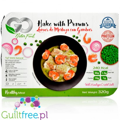 Go Natur Food hake with prawns, ready meal 26g protein