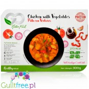 Go Natur Food chicken with vegetables ready meal, 36g protein