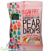Free From Fellows Pear Drops - gruszkowe cukiekri bez cukru