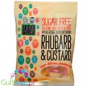 Free From Fellows Rhubarb & Custard sugar free hard candies