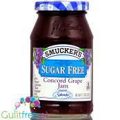 Smucker's sugar free concord grape jam